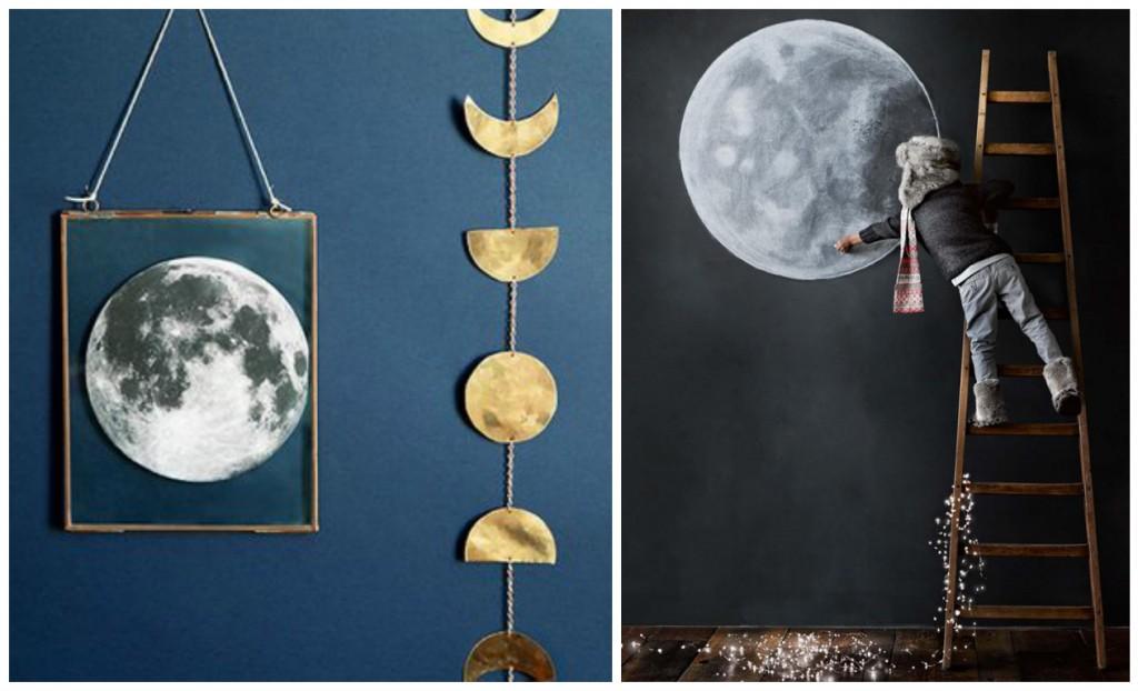 La lune dans la déco - Fly me to the moon