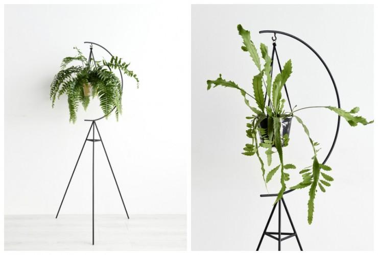 Pour nos jolies plantes aventure d co Support plantes interieur