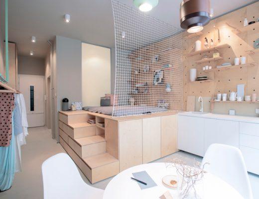 Renovation d'un appartement à Budapest