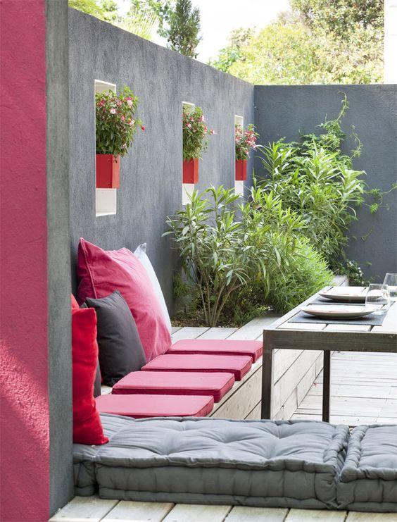 De la couleur pour nos terrasses