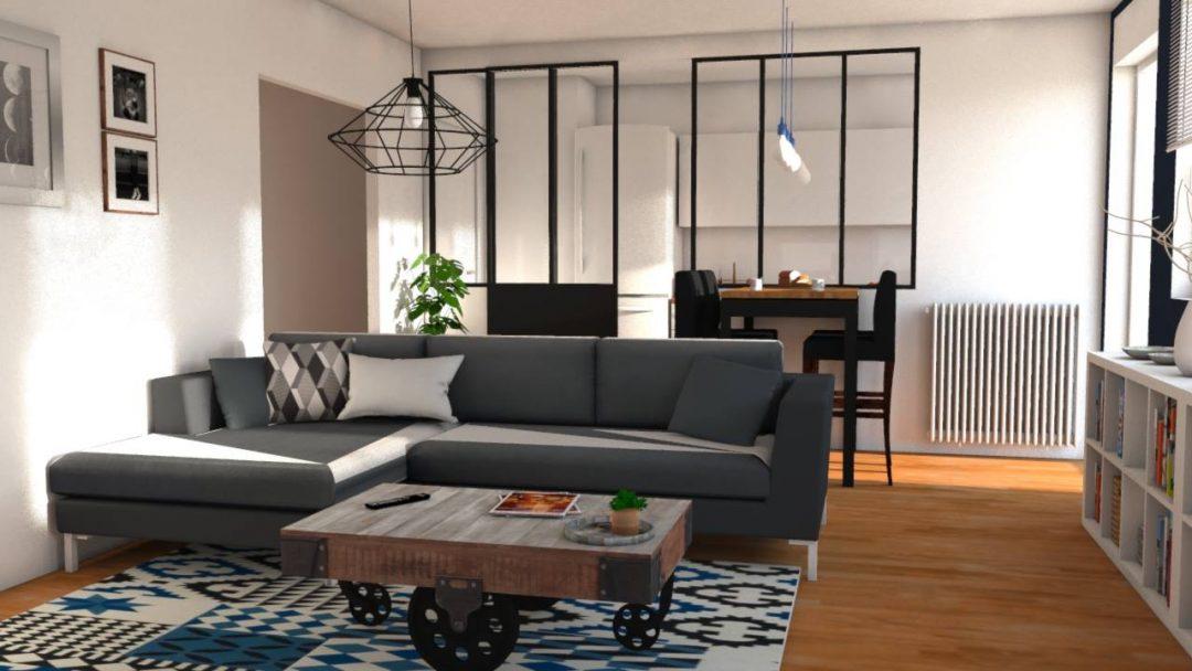 ouvrir les espaces pour un nouveau lieu de vie aventure d co. Black Bedroom Furniture Sets. Home Design Ideas