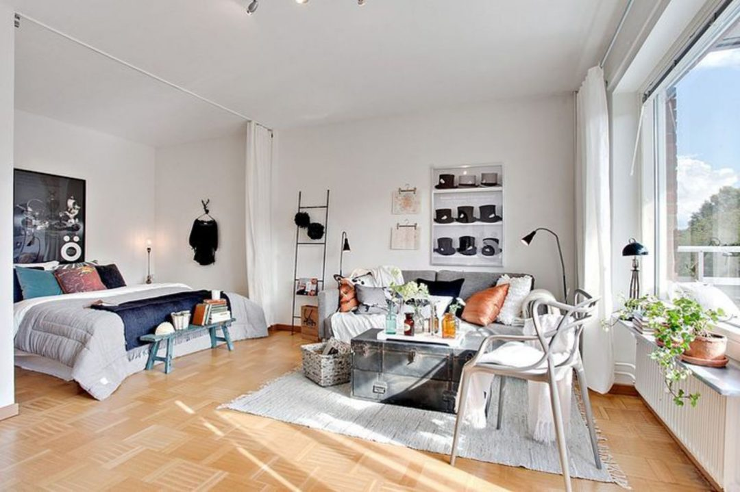 Comment am nager un studio aventure d co for Cute one bedroom apartment ideas