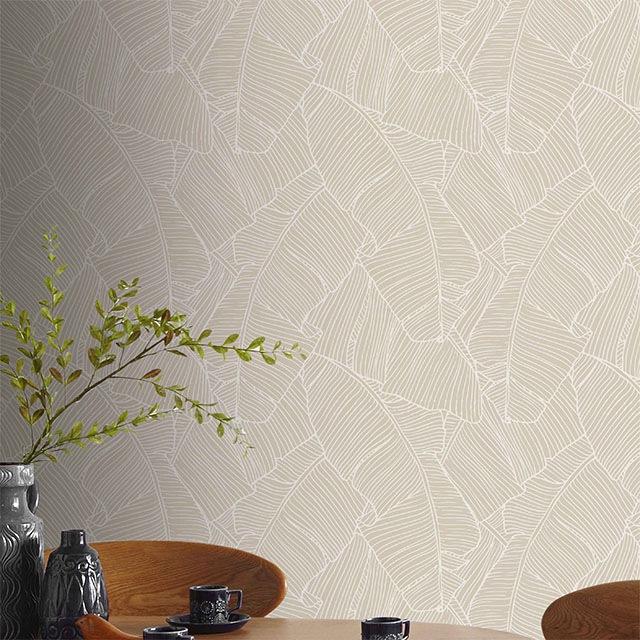 des papier peints tropicaux en attendant l 39 t aventure d co. Black Bedroom Furniture Sets. Home Design Ideas