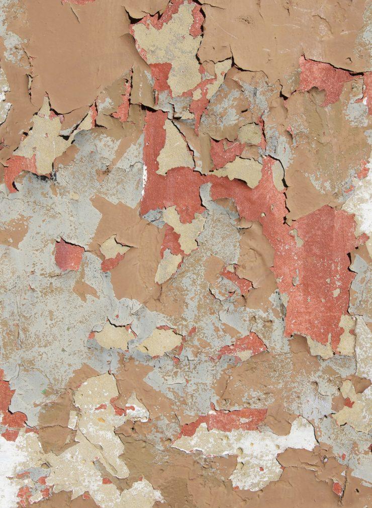 Des papiers peints au look destroy