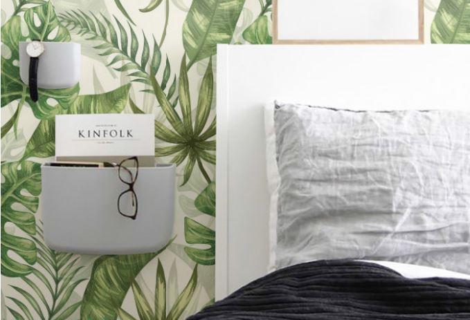 Des papier peints tropicaux en attendant l'été