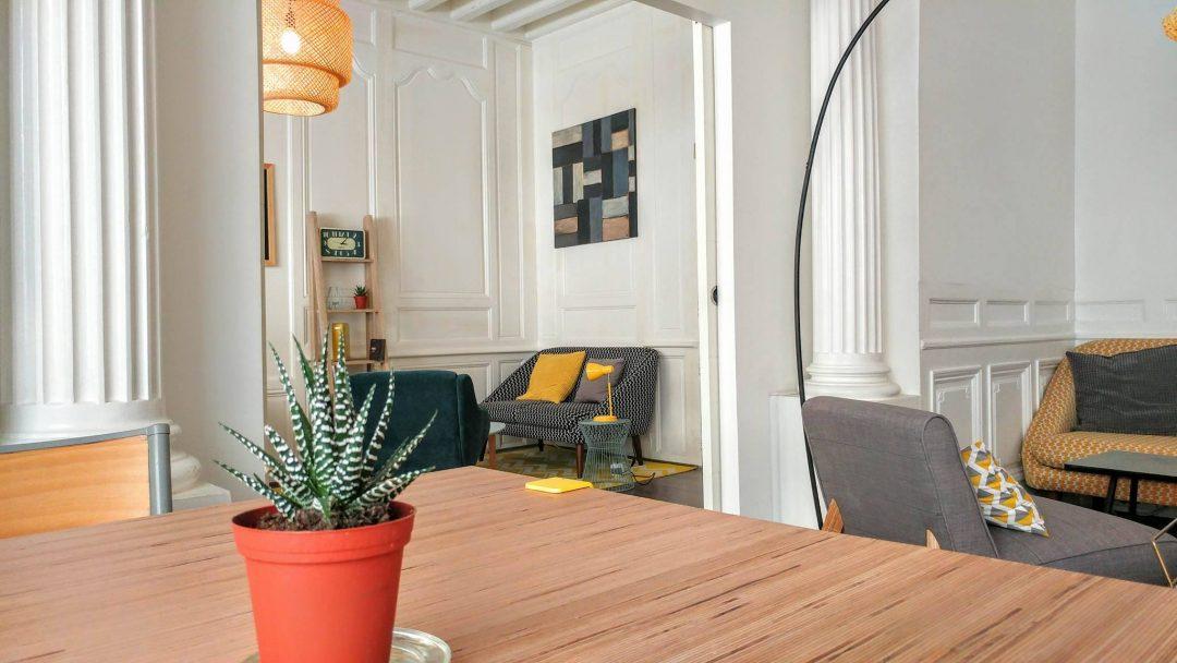 Coworking café La Bicoque à Bordeaux style de décoration vintage scandinave