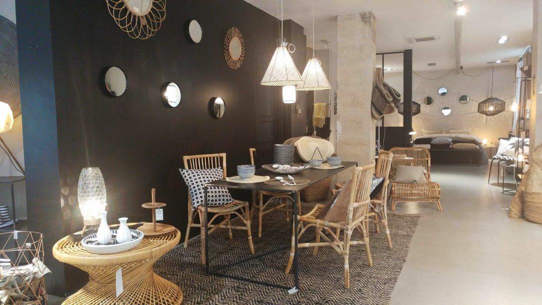 Style bohème, ethnique et scandinave à La Maisons Poétique, concept store situé à Bordeaux
