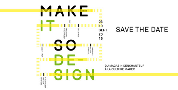 Make it so design by Leroy Merlin pour la Paris Design Week