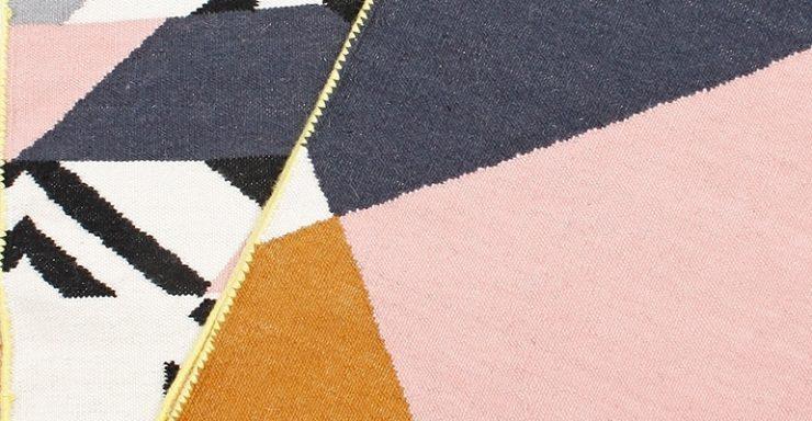Détails du tapis Lakme, Mapoésie
