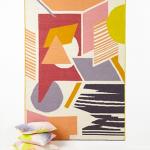 Tapis Landart coloris Ambre de chez Mapoésie