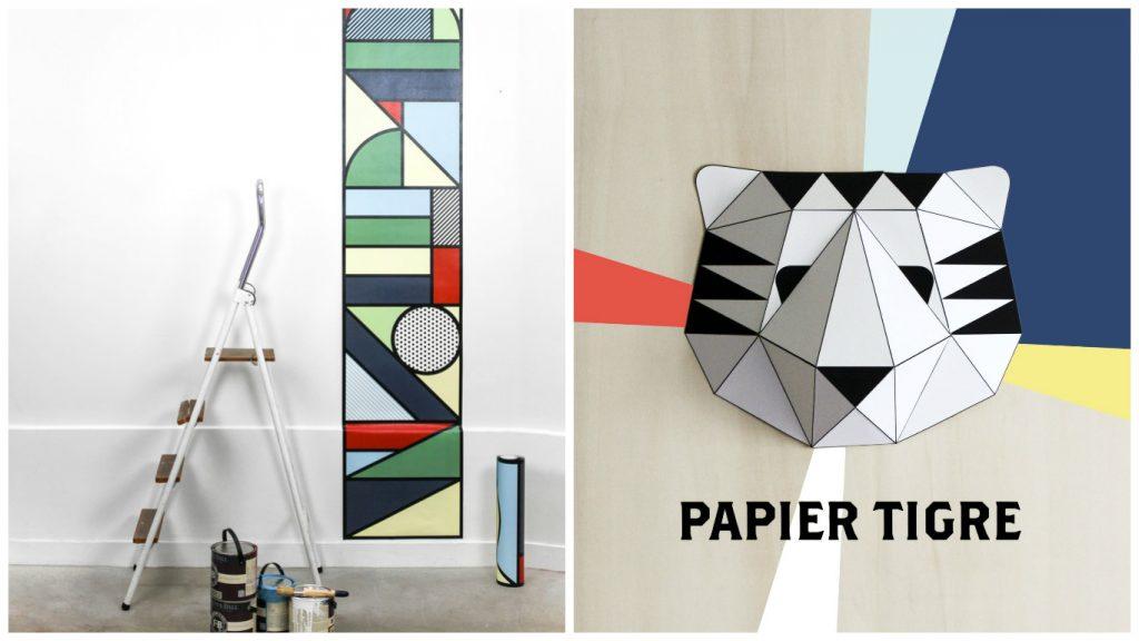 Collection de papiers peints Papier Tigre - Aventure Déco