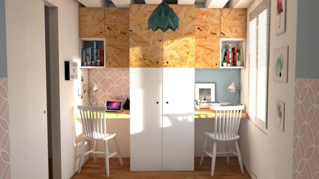 une chambre d enfant partager aventure d co. Black Bedroom Furniture Sets. Home Design Ideas