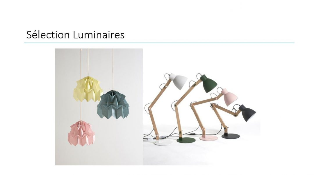 suspension-origami-rose-jaune-bleu-lampe-a-poser