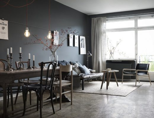 mur-bleu-gri-peinture-salon-couleur-profonde-sombre-aventuredeco