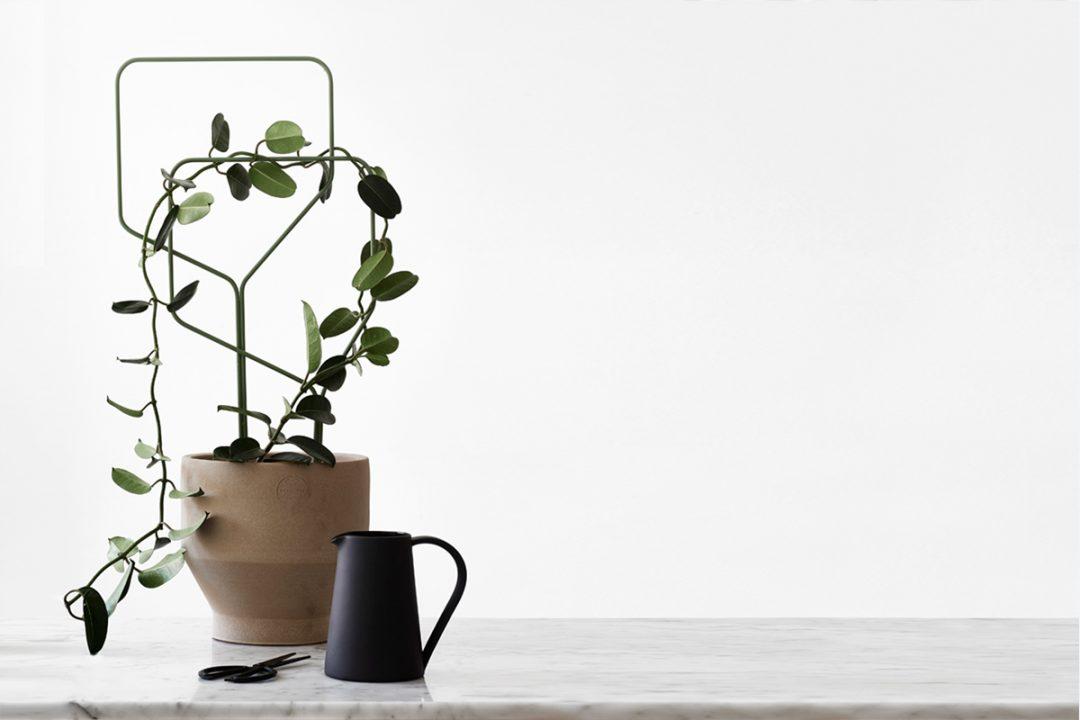 Tuteur pour plante designé par le Studio Macura