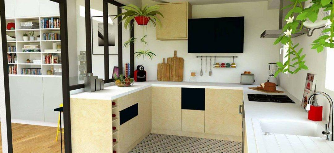 Agrandir une cuisine sans perdre d'espace - Aventure Déco