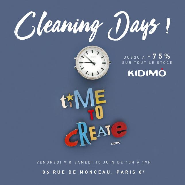 Les planning days Kiddimo - Aventure Déco