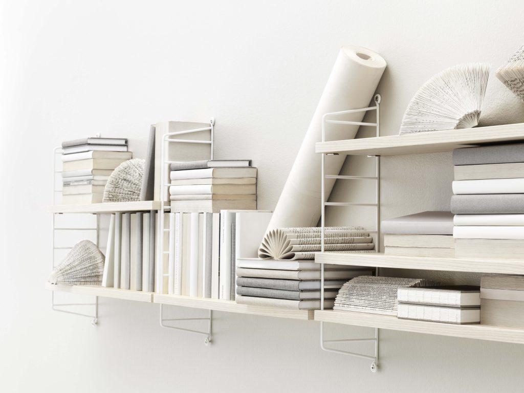 La modularité des étagères String Furniture