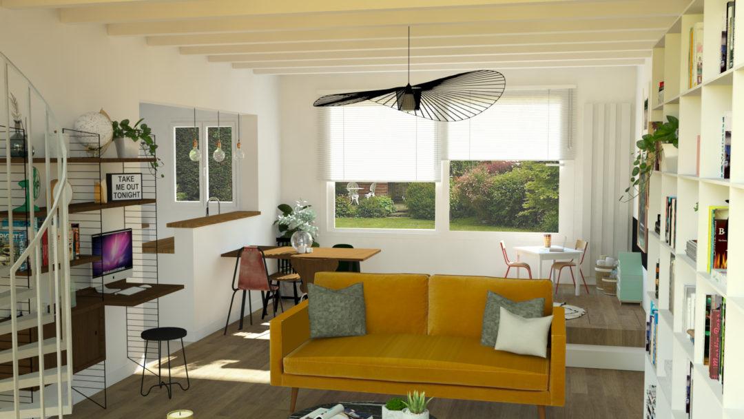 comment am nager un espace jeux pour les enfants dans le salon aventure d co. Black Bedroom Furniture Sets. Home Design Ideas