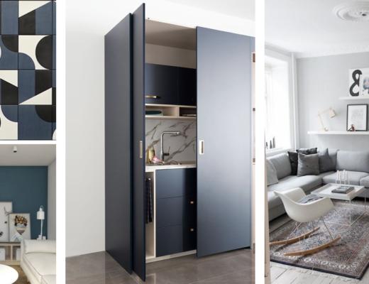 r am nagement d 39 un studio avec mezzanine aventure d co. Black Bedroom Furniture Sets. Home Design Ideas