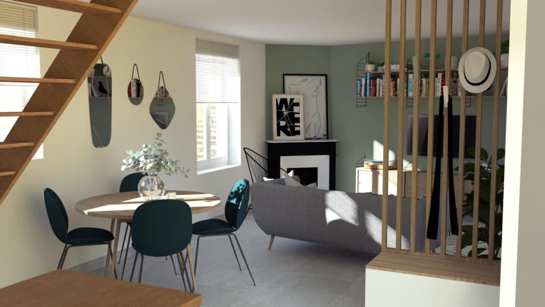 d limiter les espaces d 39 une pi ce de vie aventure d co. Black Bedroom Furniture Sets. Home Design Ideas