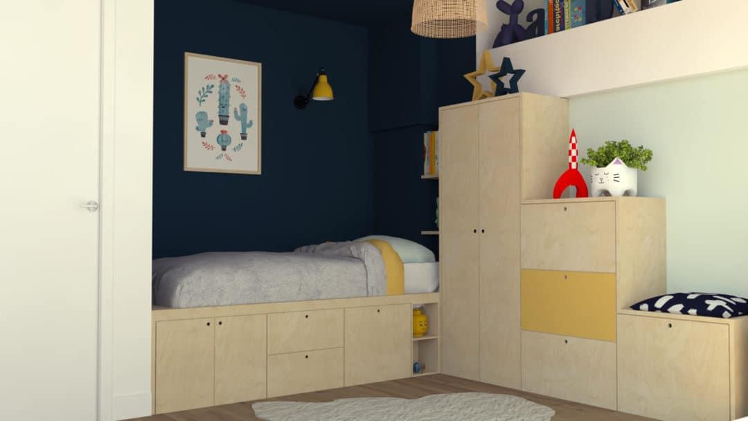 Faire cohabiter deux enfants dans une m me chambre for Deco chambre deux enfants