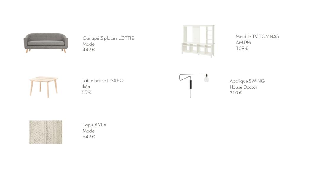 dissocier table basse et meuble tv