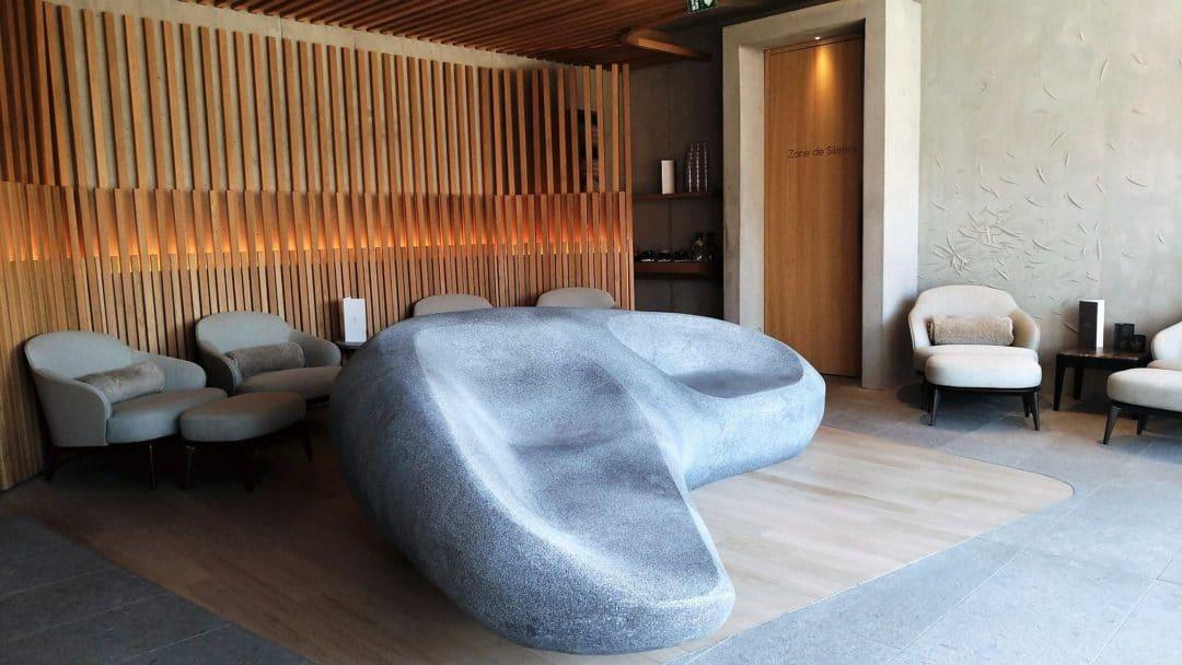Magnifique spa de l'hôtel des Berges dans le complexe de l'Auberge de l'ill