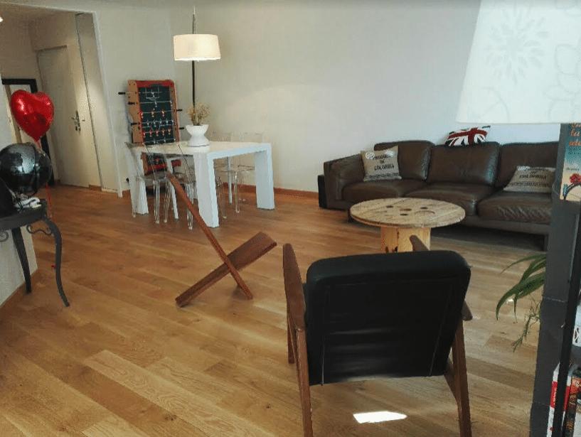 Projet travaux - Un salon familial et fonctionnel