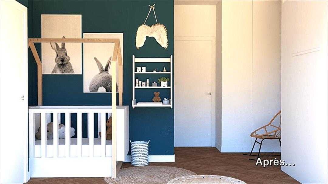 Faire cohabiter une chambre de bébé et chambre d'amis