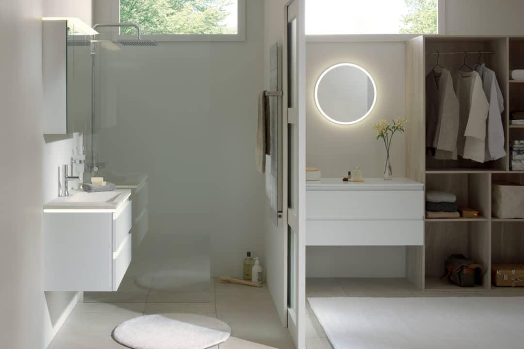 Choisir sa salle de bain pour une suite parentale