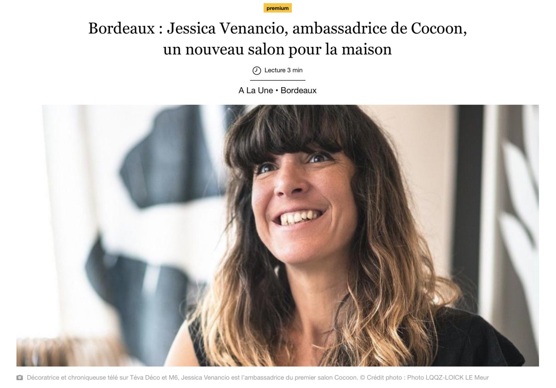Jessica Venancio, décoratrice, influence et chroniqueuse tv. Mieux chez soi avec Stephane Plaza