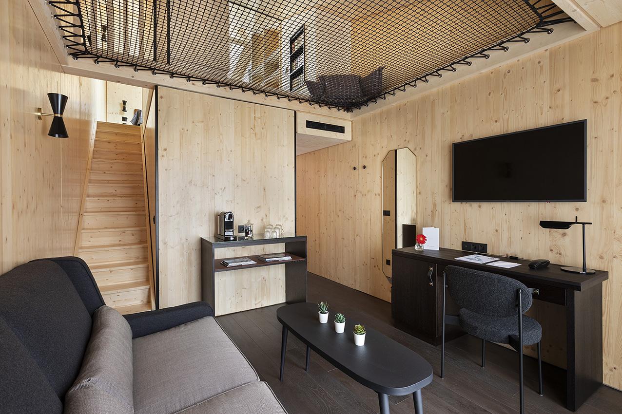 LoftNets, des filets d'habitation pour un intérieur unique