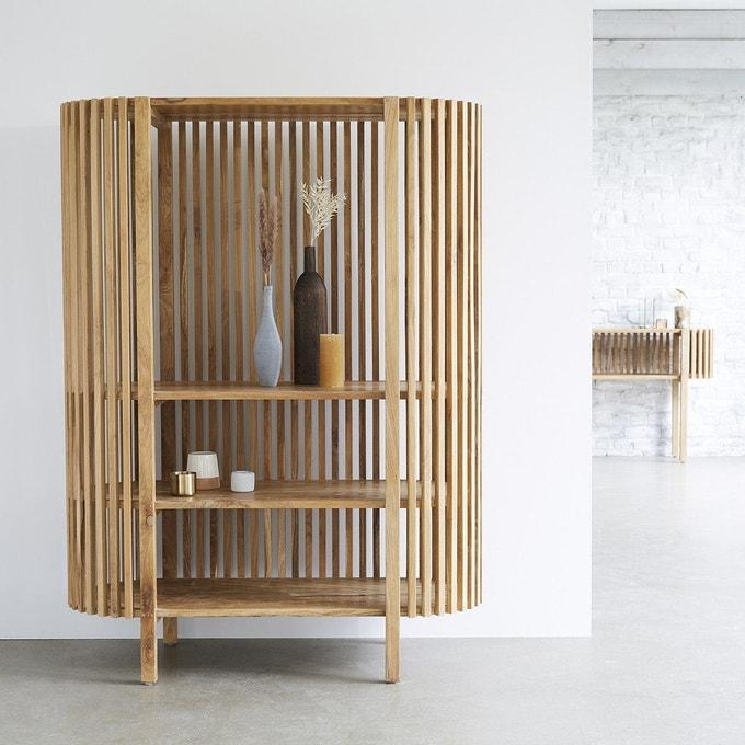 Bibliothèque en bois de teck