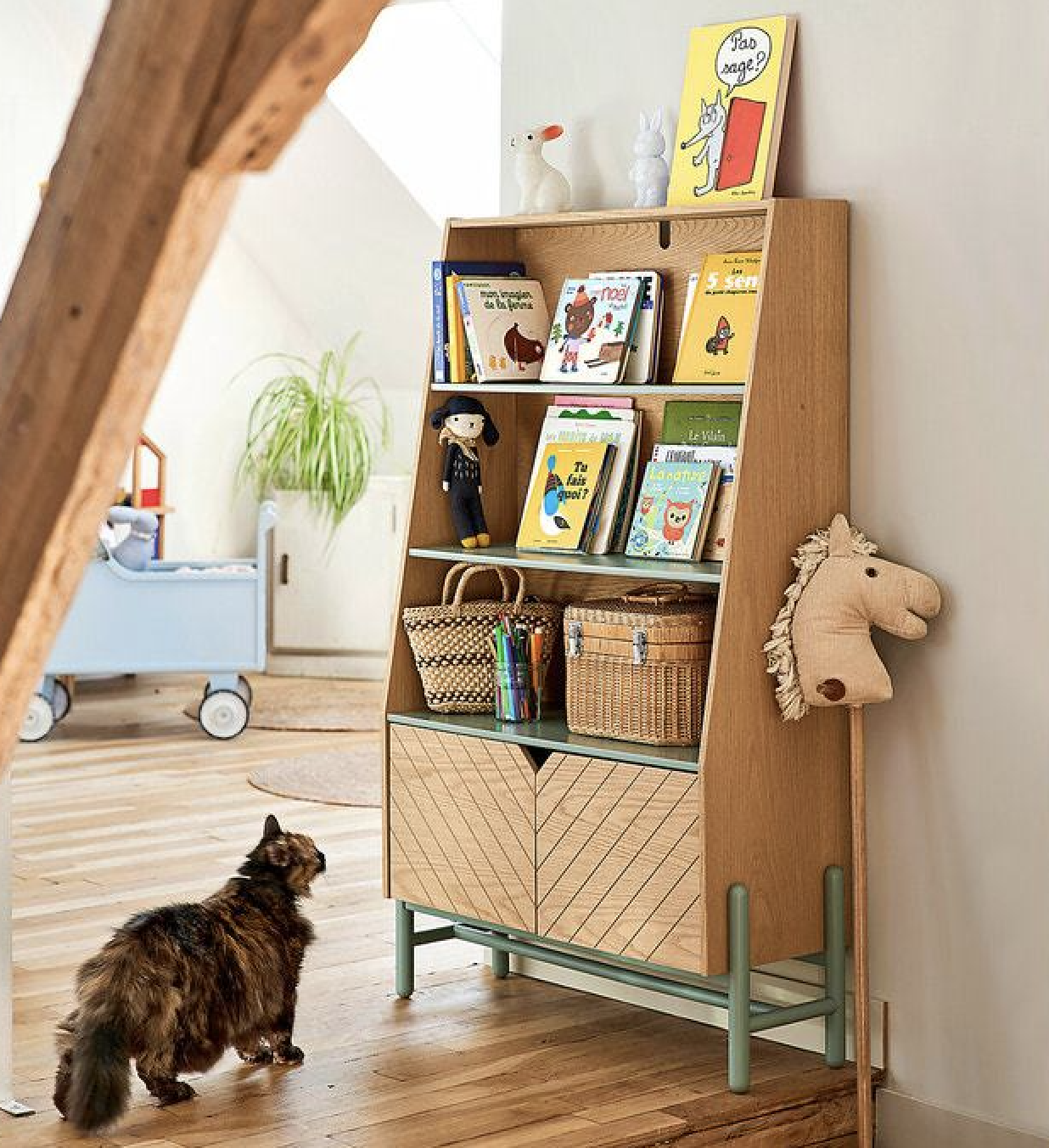 Bibliothèques / étagères de rangement enfant
