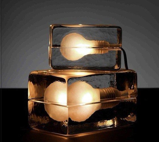La Block Lamp, une autre idée de la lumière!