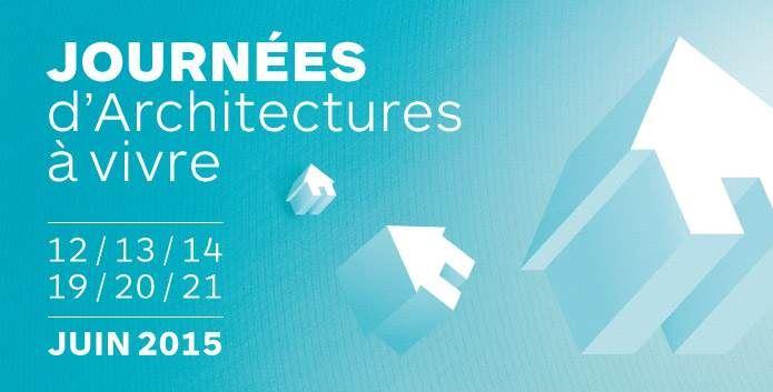Journées d'architectures à vivre : Juin 2015