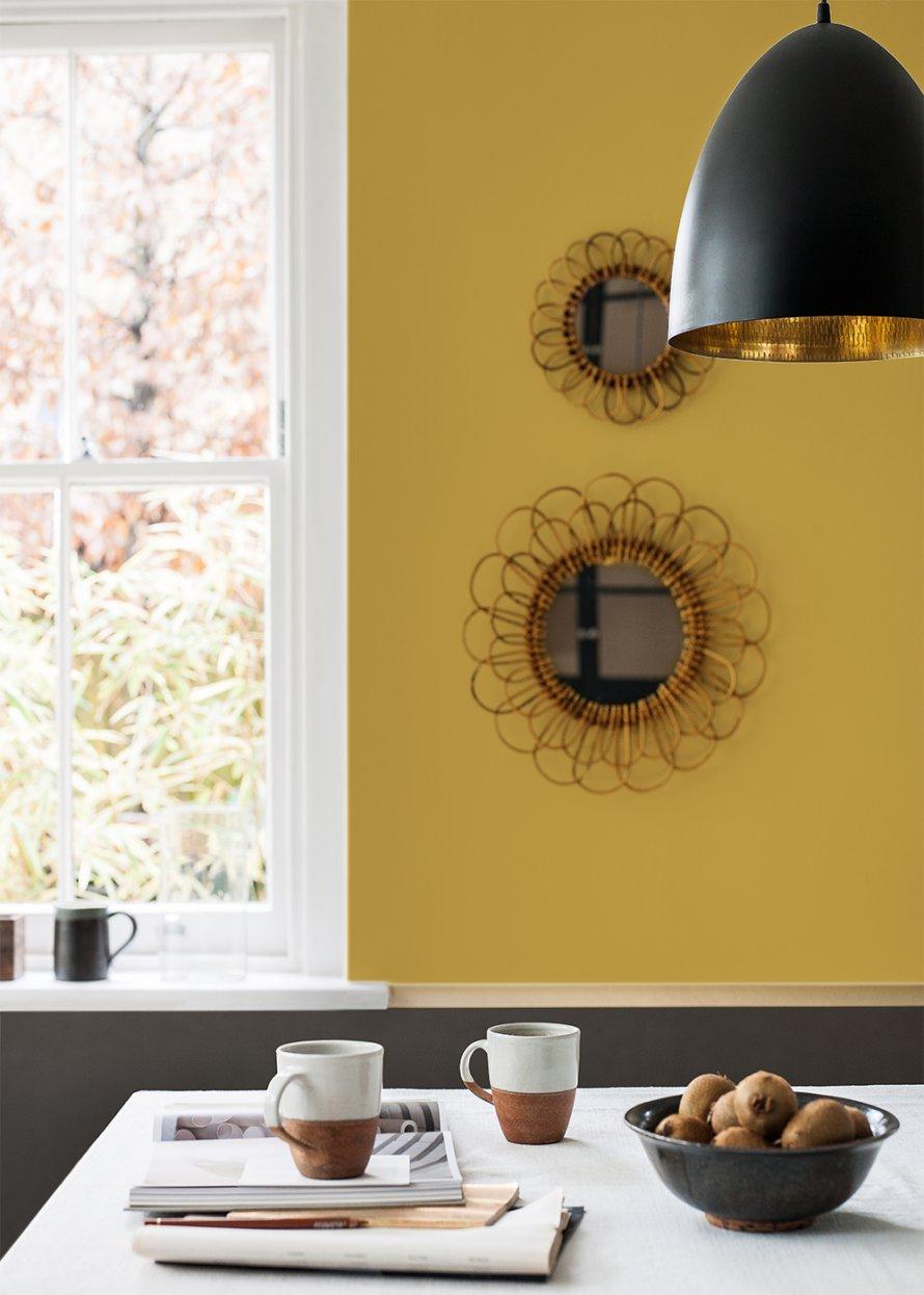 mur-jaune-moutarde-dans-cuisine-aventuredeco – Aventure Déco