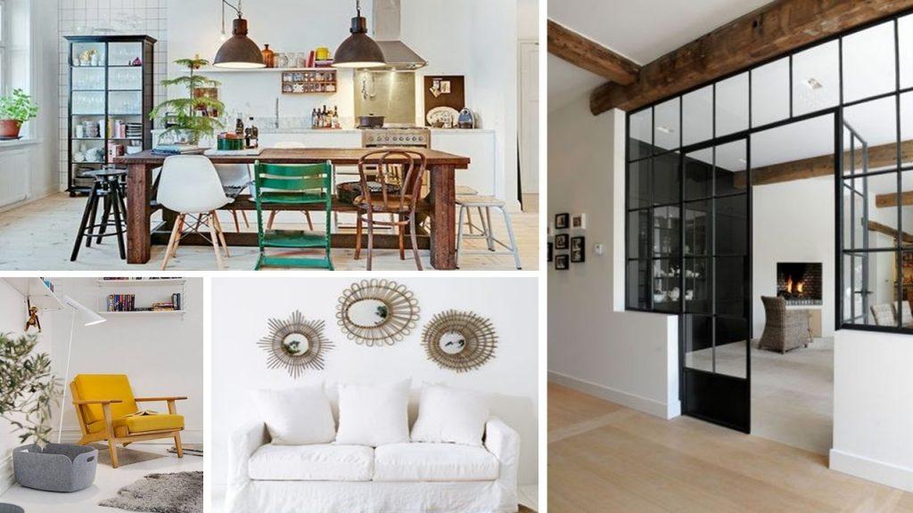 Signifier les espaces de la pièce de vie d'un loft