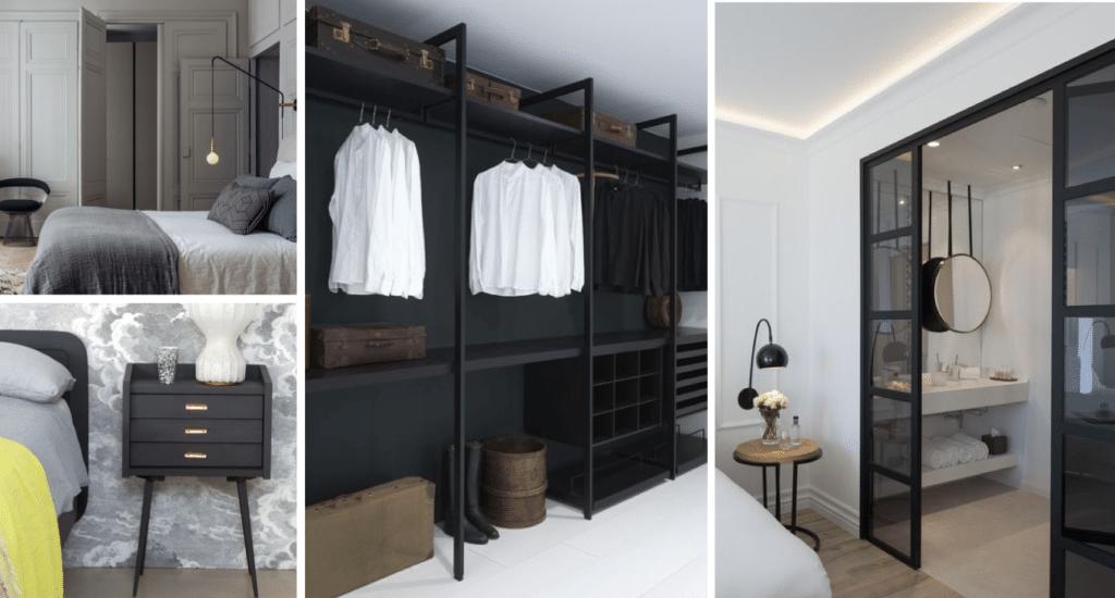 Intégrer un dressing dans une chambre