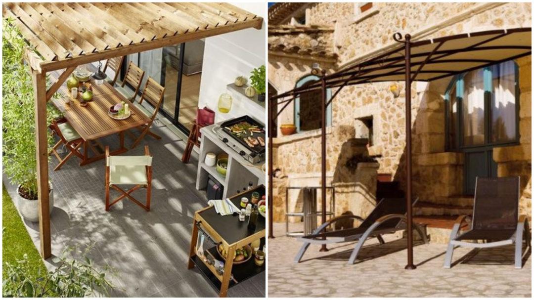quand la tonnelle envahit nos terrasses aventure d co. Black Bedroom Furniture Sets. Home Design Ideas