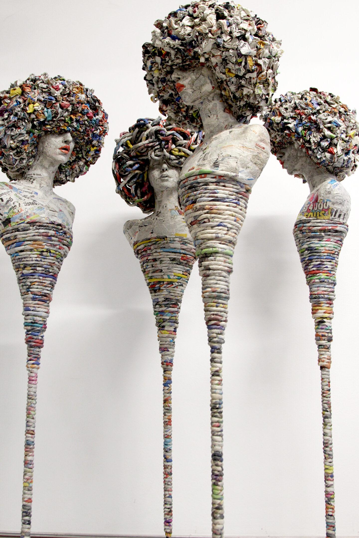 Céline Chouvenc, sculptrice de papier